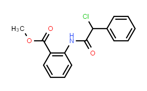 Methyl 2-{[chloro(phenyl)acetyl]amino}benzoate