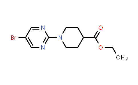 Ethyl 1-(5-bromopyrimidin-2-yl)piperidine-4-carboxylate