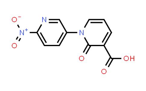 6'-Nitro-2-oxo-2H-1,3'-bipyridine-3-carboxylic acid