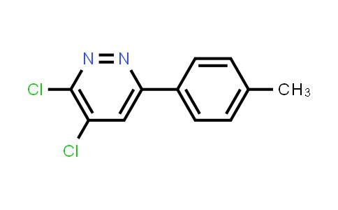 3,4-Dichloro-6-(4-methylphenyl)pyridazine
