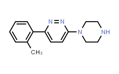 3-(2-Methylphenyl)-6-piperazin-1-ylpyridazine