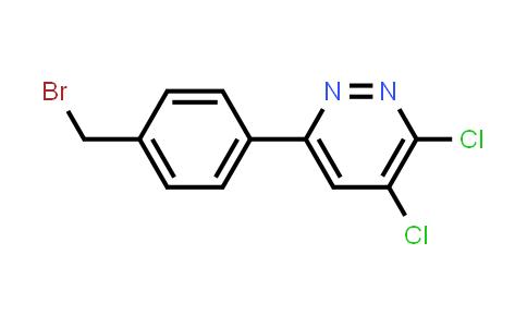 6-[4-(Bromomethyl)phenyl]-3,4-dichloropyridazine