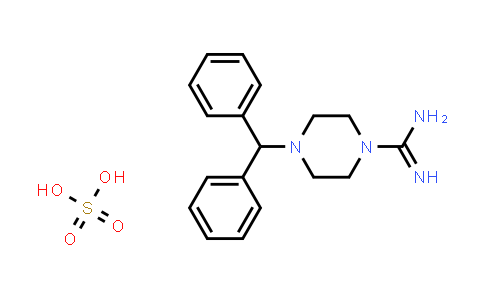 4-(Diphenylmethyl)piperazine-1-carboximidamide sulfate