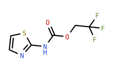 2,2,2-Trifluoroethyl N-(1,3-thiazol-2-yl)carbamate