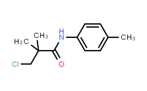 3-Chloro-2,2-dimethyl-N-(4-methylphenyl)propanamide
