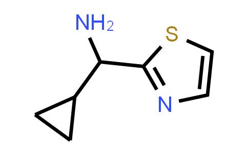 Cyclopropyl(1,3-thiazol-2-yl)methanamine