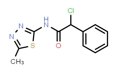2-Chloro-n-(5-methyl-1,3,4-thiadiazol-2-yl)-2-phenylacetamide