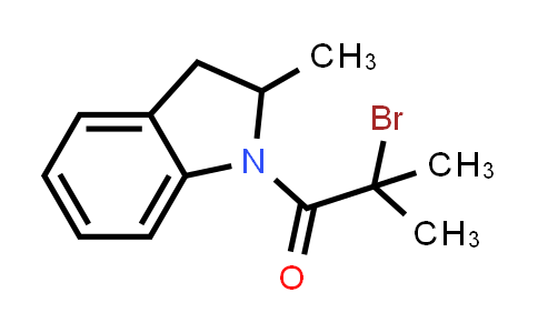 1-(2-Bromo-2-methylpropanoyl)-2-methylindoline