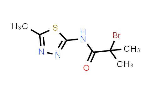2-Bromo-2-methyl-N-(5-methyl-1,3,4-thiadiazol-2-YL)propanamide