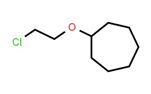 (2-Chloroethoxy)cycloheptane