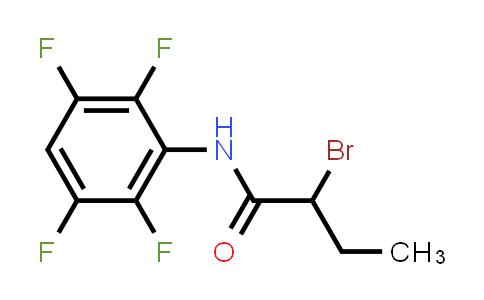 2-Bromo-n-(2,3,5,6-tetrafluorophenyl)butanamide