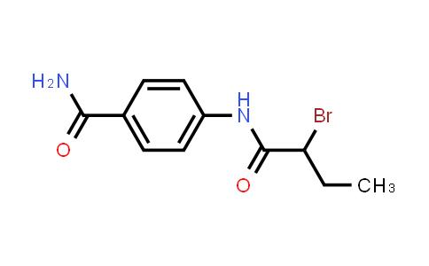 4-[(2-Bromobutanoyl)amino]benzamide