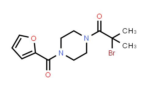 1-(2-Bromo-2-methylpropanoyl)-4-(2-furoyl)piperazine