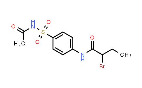 N-{4-[(acetylamino)sulfonyl]-phenyl}-2-bromobutanamide