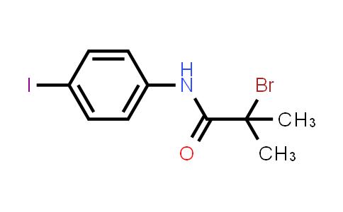 2-Bromo-N-(4-iodophenyl)-2-methylpropanamide