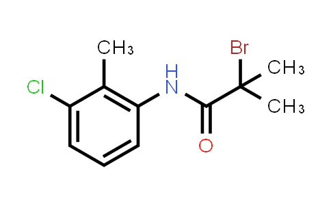 2-Bromo-N-(3-chloro-2-methylphenyl)-2-methylpropanamide