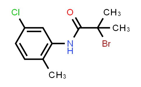 2-Bromo-n-(5-chloro-2-methylphenyl)-2-methylpropanamide