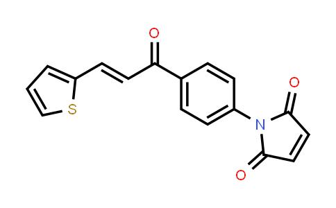 1-{4-[(2E)-3-(2-Thienyl)prop-2-enoyl]-phenyl}-1H-pyrrole-2,5-dione