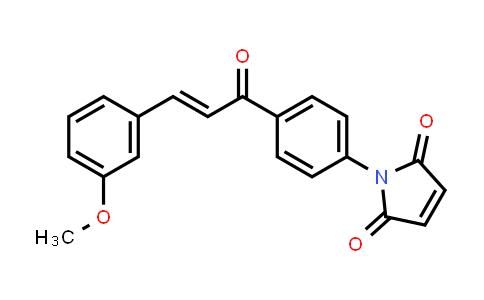1-{4-[(2E)-3-(3-Methoxyphenyl)prop-2-enoyl]phenyl}-1H-pyrrole-2,5-dione