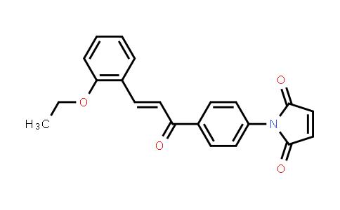 1-{4-[(2E)-3-(2-Ethoxyphenyl)prop-2-enoyl]phenyl}-1H-pyrrole-2,5-dione