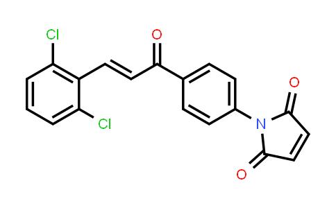 1-{4-[(2E)-3-(2,6-Dichlorophenyl)prop-2-enoyl]phenyl}-1H-pyrrole-2,5-dione