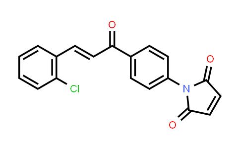 1-{4-[(2E)-3-(2-Chlorophenyl)prop-2-enoyl]phenyl}-1H-pyrrole-2,5-dione