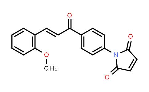 1-{4-[(2E)-3-(2-Methoxyphenyl)prop-2-enoyl]phenyl}-1H-pyrrole-2,5-dione