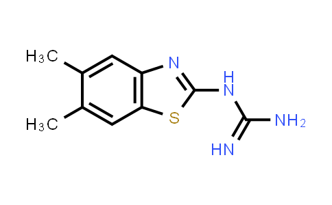 N-(5,6-Dimethyl-1,3-benzothiazol-2-yl)guanidine