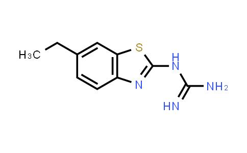 N-(6-Ethyl-1,3-benzothiazol-2-yl)guanidine