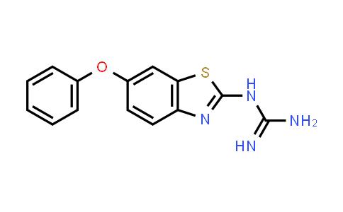 N-(6-Phenoxy-1,3-benzothiazol-2-yl)guanidine