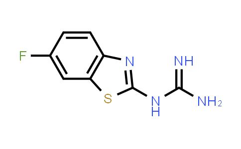 N-(6-Fluoro-1,3-benzothiazol-2-yl)guanidine