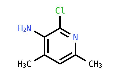 2-Chloro-4,6-dimethylpyridin-3-amine