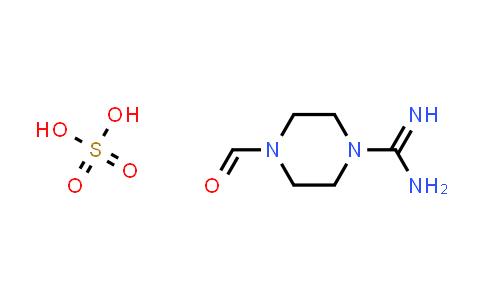4-Formylpiperazine-1-carboximidamide sulfate