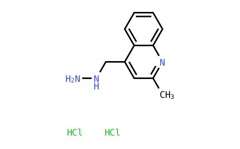 4-(Hydrazinylmethyl)-2-methylquinoline dihydrochloride