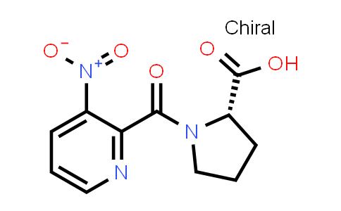 1-[(3-Nitropyridin-2-yl)carbonyl]proline