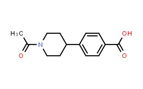 4-(1-Acetylpiperidin-4-yl)benzoic acid