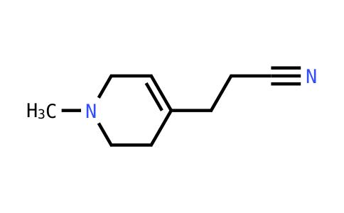 3-(1-Methyl-1,2,3,6-tetrahydropyridin-4-yl)propanenitrile