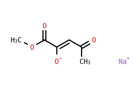 Sodium 1-methoxy-1,4-dioxopent-2-en-2-olate