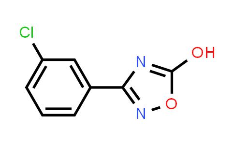3-(3-Chlorophenyl)-1,2,4-oxadiazol-5-ol
