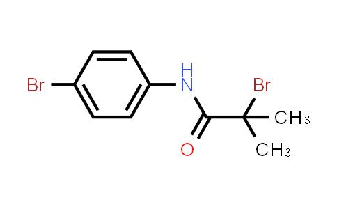2-Bromo-N-(4-bromophenyl)-2-methylpropanamide