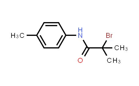 2-Bromo-2-methyl-N-(4-methylphenyl)propanamide