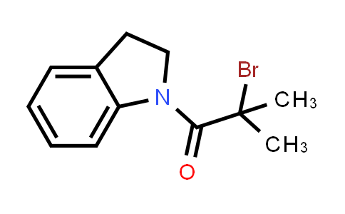 1-(2-Bromo-2-methylpropanoyl)indoline