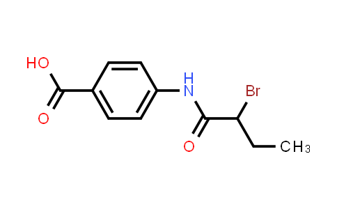 4-[(2-Bromobutanoyl)amino]benzoic acid