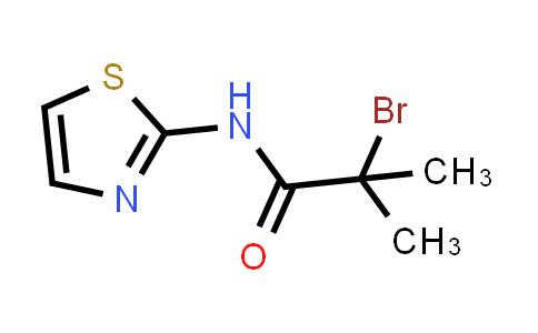 2-Bromo-2-methyl-N-1,3-thiazol-2-ylpropanamide
