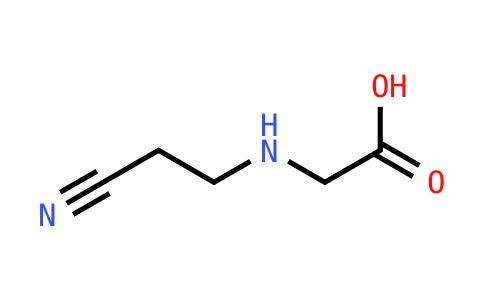 2-[(2-Cyanoethyl)amino]acetic acid
