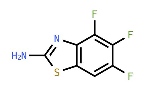 4,5,6-Trifluoro-1,3-benzothiazol-2-amine