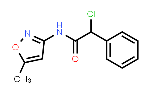 2-Chloro-n-(5-methylisoxazol-3-yl)-2-phenylacetamide