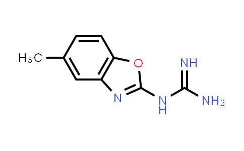 N-(5-Methyl-1,3-benzoxazol-2-yl)guanidine