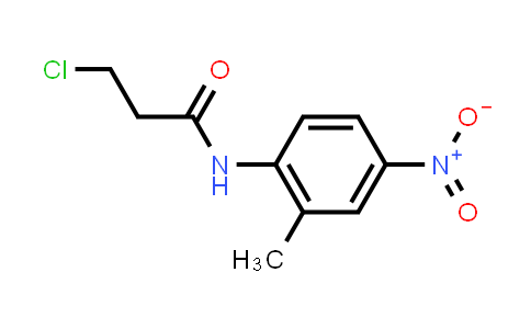 3-Chloro-N-(2-methyl-4-nitrophenyl)propanamide