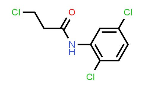 3-Chloro-N-(2,5-dichlorophenyl)propanamide